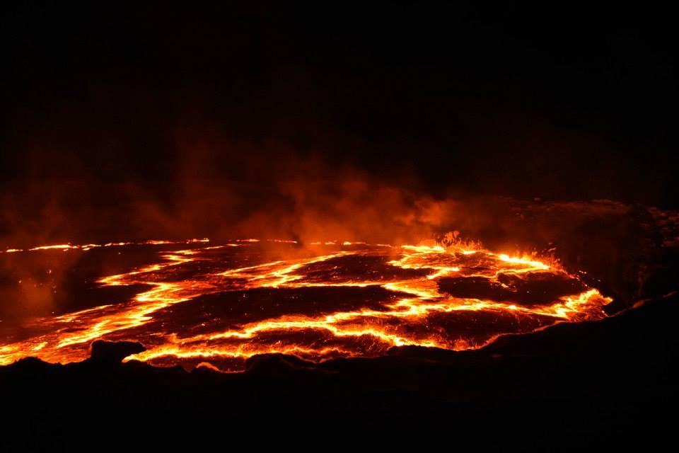 המדריך לטיול בהר געש ארטה