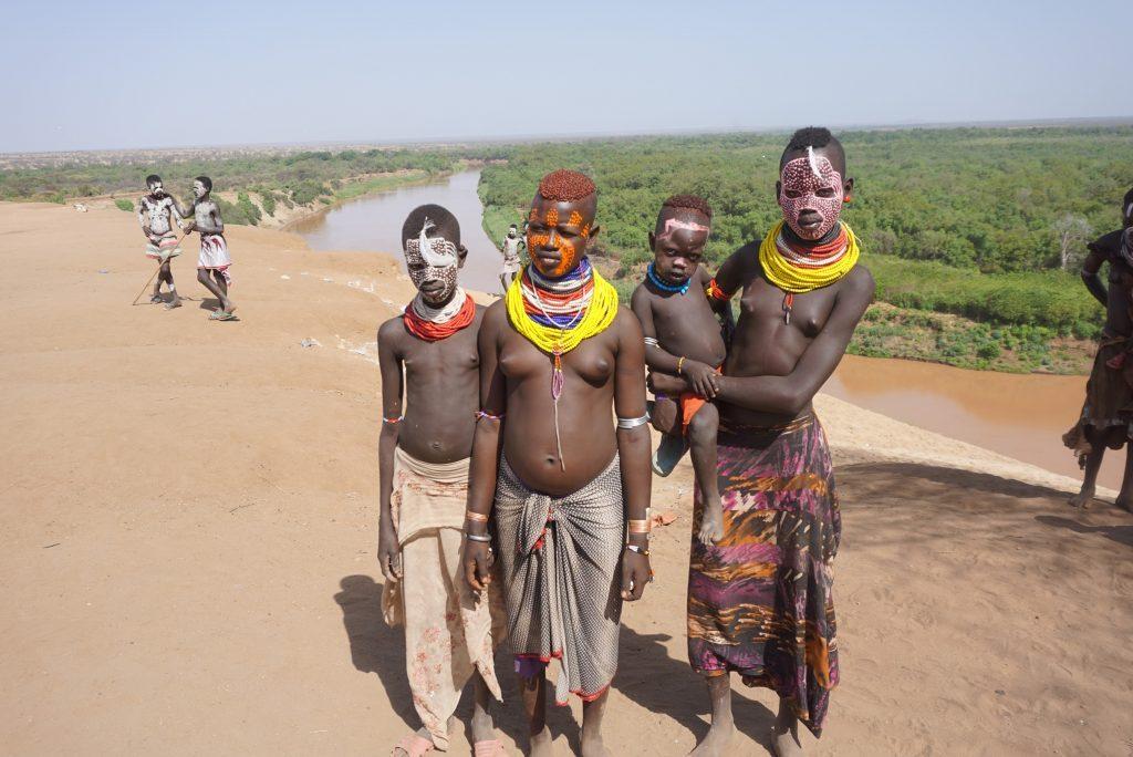 תכנון מסלול טיול שבטים אתיופים
