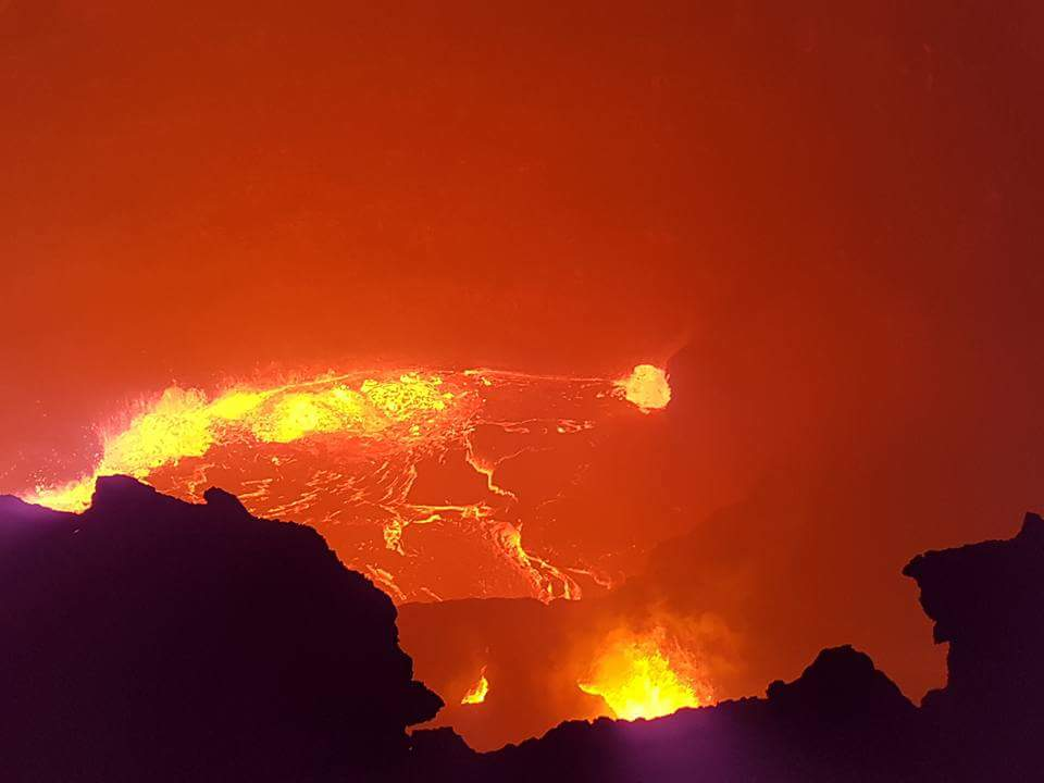 הר הגעש ארטה עלה (Erta alr)
